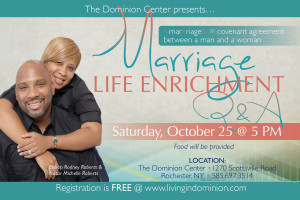 Marriage Life Enrichment Seminar @ The Dominion Center | Rochester | New York | United States