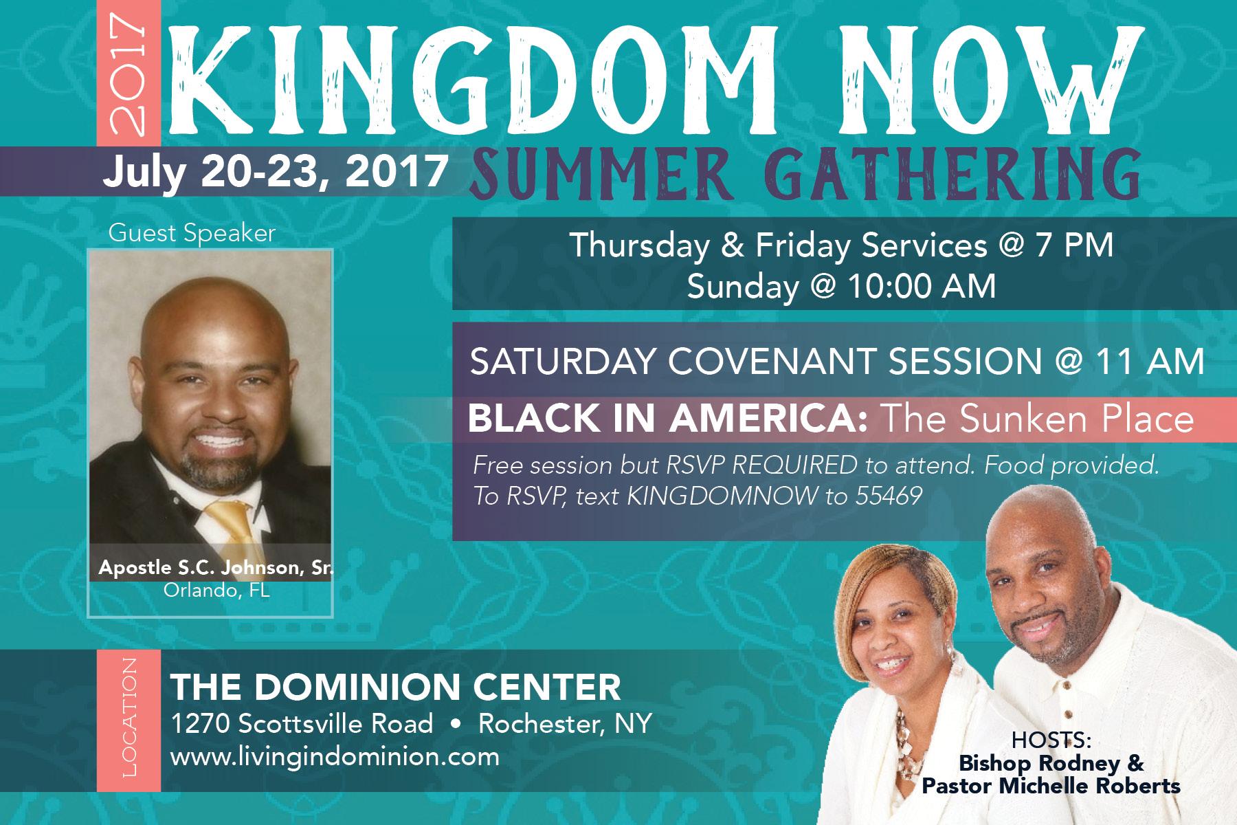 Kingdom Now Gathering 2017